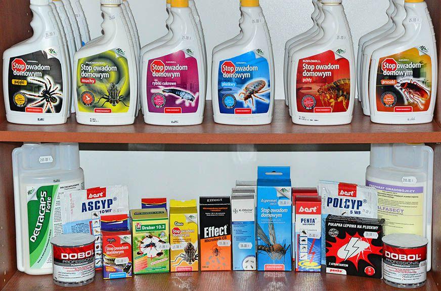 preparaty srodki i chemia na pluskwy domowe