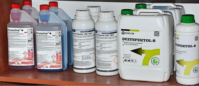 Środki do dezynfekcji