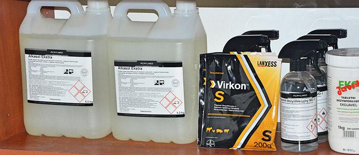 Produkty do dezynfekcji - Sklep w Białymstoku